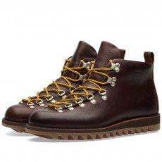 Fracap M120 Ripple Sole Scarponcino Boot (Dark Brown)