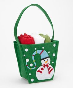 Take a look at this Snowman Gift Box & Dish Towel Set by Design Imports on #zulily today!