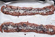 Kärleksmums snittar | Sweet and Simple Bacon, Recipies, Hem, Cookies, Breakfast, Sweet, Desserts, Food, Simple