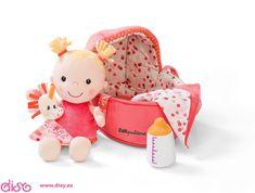 #muñecasdetrapo #muñecasbebé #muñecas  Muñeca de trapo bebe - Lilliputiens Louise 86741  www.disy.es