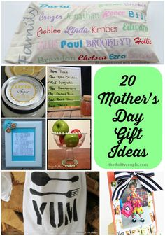 20 Handmade Mother's Day Gift Ideas