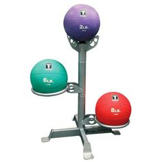 Body-Solid 3-Ball Medicine Ball Rack