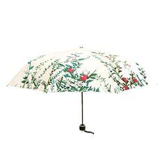 Manzouy Portátil Plegable Viajar Paraguas. Una pintura de un paraguas. Robusto Durable viento apretado Plegables Rama Gato - http://comprarparaguas.com/baratos/japoneses/manzouy-portatil-plegable-viajar-paraguas-una-pintura-de-un-paraguas-robusto-durable-viento-apretado-plegables-rama-gato/