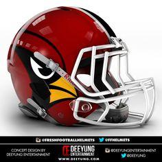 NFL Concept Helmets by Imgur   Arizona Cardinals