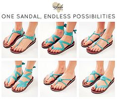 You remember how big TOMS got right? Well here's something new...Sseko sandals. Made by women in Uganda trying to make money to go to a university. Take a second to go to the website to read The Sseko Story! Every sandal has a story...One sandal, endless possibilities.