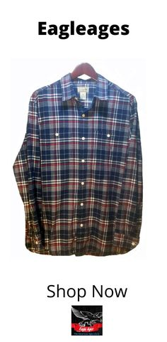 S-Fly Mens Casual Long-Sleeve Plaid Check Cotton Button Down Flannel Flap Pockets Shirt