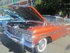Shiny orange car