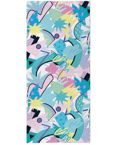 Check out this bright all-over-print Tropical Beach Towel! This sexy fully sublimated towel features geometric shapes with splashes of pastels which creates a fun aesthetic! Get this vibrant design for your vacation today, only on RageOn! Tropical Beach Resorts, Machu Picchu Tours, Summer Pool Party, Beautiful Beaches, Geometric Shapes, Beach Towel, Vibrant, Kids Rugs, Creative