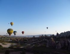 Enjoy a Balloon flight over Cappadocia, Turkey