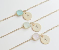 Love these especially as I'm not really a jewellery person but I think they'd be unique and match us up as bridesmaids.