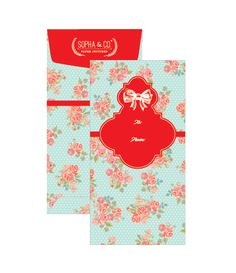 "Modern money envelope ""angpao"" design Red Packet, Money Envelopes, Oriental Design, Love Design, Packaging Design, Stationery, Packing, Pocket, Modern"