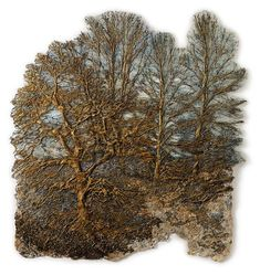 Beautiful Textile Trees By Lesley Richmond http://designwrld.com/textile-trees-lesley-richmond/