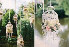 Floral birdcage my FAIRYTALE theme wedding!