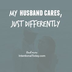 Do you equate care and love to certain habits and actions? We all grew up differently and therefore process and understand life from specific cues, words and deeds. For me certain actions and words speak love and affection. And other words and actions... Read more #marriage