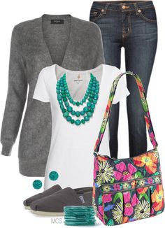 """Vera Bradley"" by mclaires on Polyvore"