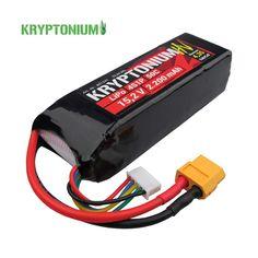 4S 14,8V LiPo Akkumulátorok: LiHV akkumulátor Kryptonium 4S 15,2V 2200mAh 50C
