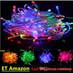 Wholesale cheap led christmas lights 110 online, Yes   - Find best  100LEDs 10M Wedding/Party/Christmas Led String Lights For Home & Garden Outdoor Decoration AC 110V 220V, Waterproof at discount prices from Chinese LED Strings supplier - etamazon on DHgate.com.