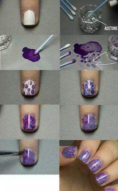 Watermark nails