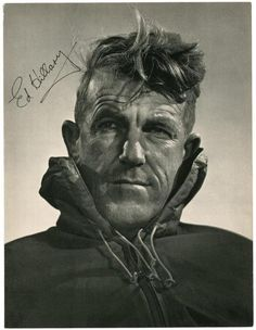 Sir Edmund Percival Hillary KG ONZ KBE (20 July 1919 – 11 January 2008) was a New Zealand mountaineer, explorer and philanthropist. On 29 May 1953, Hillary and Nepalese Sherpa mountaineer Tenzing Norgay became the first climbers to reach the summit of Mount Everest. They were part of the ninth British expedition to Everest, led by John Hunt. Hillary was named by Time as one of the 100 most influential people of the 20th century.