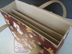 Cursos by Claudia Wada: Bolsa para Scrapbook