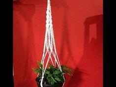 Espetáculo de lindo - Tutorial: Suporte para plantas em Macramê - YouTube