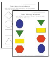This site has lots of pre-school worksheets for learning shapes, colors, numbers, letters and more.