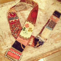 Here's my belt made in @amyhanna 's class at @jennydoh 's- Thanks girls for the creative day! by pam garrison, via Flickr