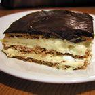 Chocolate Eclaire Dessert