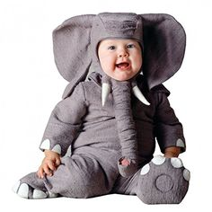 Tom Arma Elephant Signature Limited Edition Baby Costume Infant 6-12 MO Months http://www.newlimitededition.com/tom-arma-elephant-signature-limited-edition-baby-costume-infant-6-12-mo-months/ This heirloom quality costume is fully lined with soft fleece. Includes: Grey body suit with snaps in (upper) back only, lined booties* (not intended for wear over shoes), and matching character headpiece with Elephant ears and front Velcro closure. Costume available in Infant and Toddler sizes...