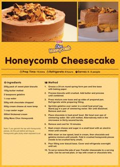 You will love this Chocolate Honeycomb Cheesecake Recipe and it