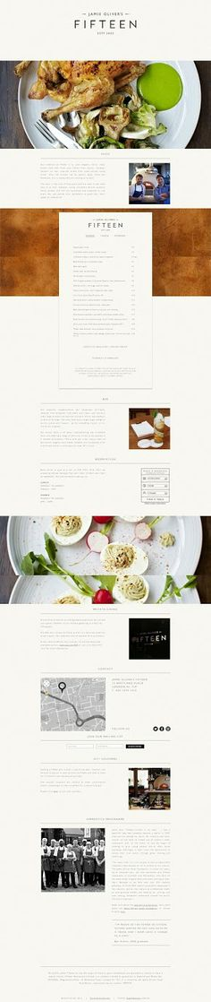 Fifteen London official site | Jamie Oliver