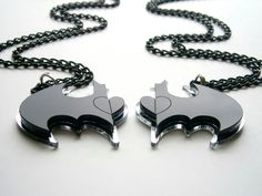 Batman bff necklaces
