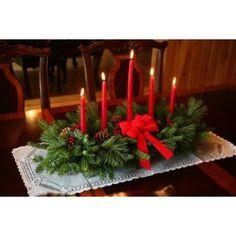 Christmas Table Decorations | Christmas Table Decorations | Festive Inexpensive Christmas Table ...