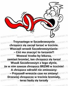 Chrząszcz Wtf Funny, Funny Texts, Learn Polish, Polish Language, Tongue Twisters, Speech And Language, Kids And Parenting, Knowledge, Jokes