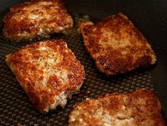 The Best Easy Homemade Scrapple Recipe Ever! Amish Recipes, Dutch Recipes, Great Recipes, Favorite Recipes, Unique Recipes, Retro Recipes, Russian Recipes, Vintage Recipes, Yummy Recipes