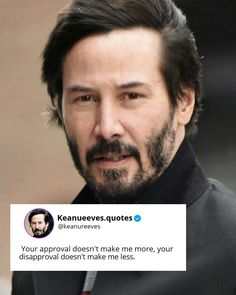 Keanu Reeves Quotes, Keanu Reaves, Love You, My Love, Infj, Motivation Quotes, John Wick, Positive Quotes, Inspirational Quotes
