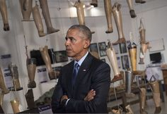 President Barack Obama tours the Cooperative Orthotic and Prosthetic Enterprise (COPE) visitor center in Vientiane, Laos **** [youtube= **** **** President Barack Obama arriving in Luang Prabang Pr…
