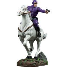"The Phantom - Phantom in Purple Suit on Horse ""Hero"" Limited Edition Statue"