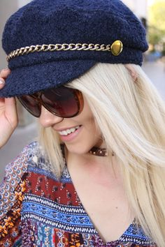 Grab a hat and go! There is a beauty in that! Make it a reality with this adorable $30 hat from Scala. #ShopALB #ApricotLaneTS