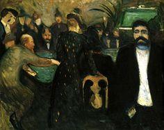 ALONGTIMEALONE: The Roulette Edvard Munch - 1892
