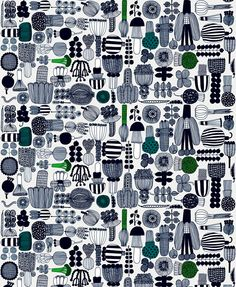 Marimekko fabrics - Buy online from Finnish Design Shop. All in-stock items ship within 24 hours. Discover Unikko and other Marimekko fabrics for a modern home! Marimekko Fabric, Marimekko Wallpaper, Scandinavia Design, Types Of Curtains, Image Hd, Surface Pattern Design, Print Pattern Design, Large Prints, Bold Prints