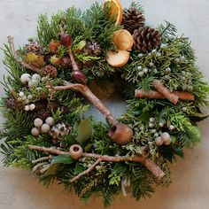 fragrant bush wreath