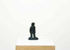 Cícero Alves dos Santos - Véio | O orixá sem cara, 2014 | Tinta acrílica e madeira | 15 x 8,5 x 3 cm