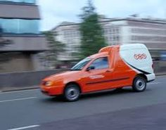 Small TNT Delivery Van