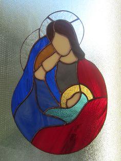 Deko-Objekte - ✥HEILIGE FAMILIE–CHRISTI GEBURT TIFFANY KRIPPE - ein Designerstück von Dare-To-Dream bei DaWanda