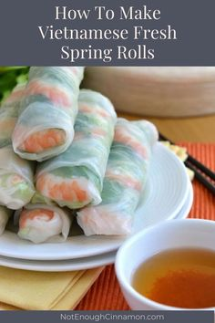 Looking for Fast & Easy Appetizer Recipes, Asian Recipes, Healthy Recipes, Seafood Recipes, Side Dish Recipes! Recipechart has over free recipes for you to browse. Find more recipes like Vietnamese Fresh Spring Rolls. Vietnamese Recipes, Asian Recipes, Vietnamese Food, Vietnamese Rolls, Vietnamese Fresh Spring Rolls, Healthy Snacks, Healthy Recipes, Free Recipes, Snacks Für Party