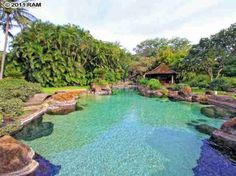 Hawaiian Residence Featuring Acres of Paradise Amazing Swimming Pools, Natural Swimming Pools, Pool Spa, Outdoor Pool, Outdoor Spaces, Lagoon Pool, Outdoor Water Features, Dream Pools, Pool Designs
