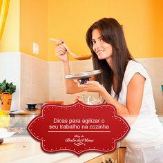 Dicas para agilizar o seu trabalho na cozinha
