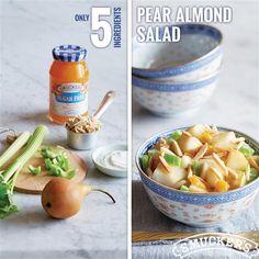 Pear Almond Salad