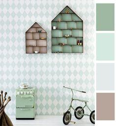 Interieur & kids | Mintgroen - Babykamer/ Kinderkamer inspiratie (deel 1) • Stijlvol Styling - Woonblog